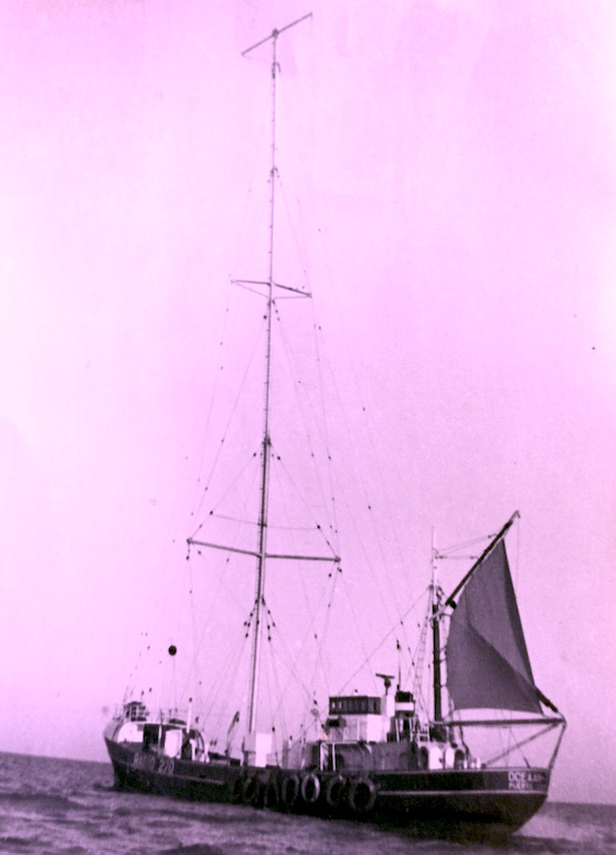 Radio ship MV Oceaan 7